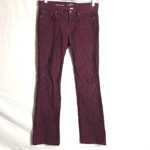 Ann Taylor Loft modern bootcut corduroy pants